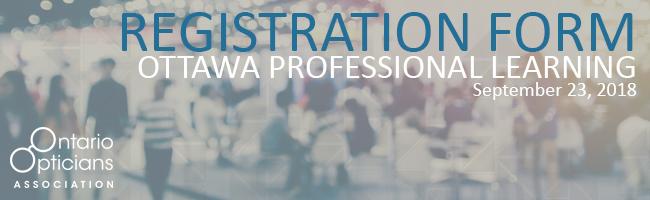 OOA Ottawa Professional Learning 2017